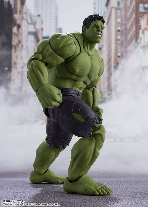 Bandai S.H.Figuarts Hulk AVENGERS ASSEMBLE EDITION Japan version