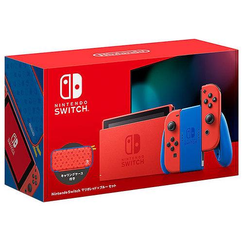 Nintendo Switch Mario Red x Blue Set Japan version