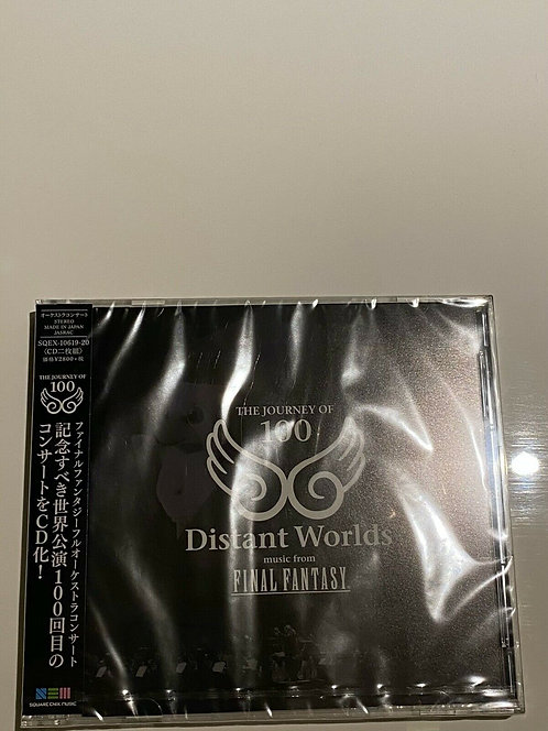 Distant Worlds: music from FINAL FANTASY THE JOURNEY OF 100 (CD) Japan version