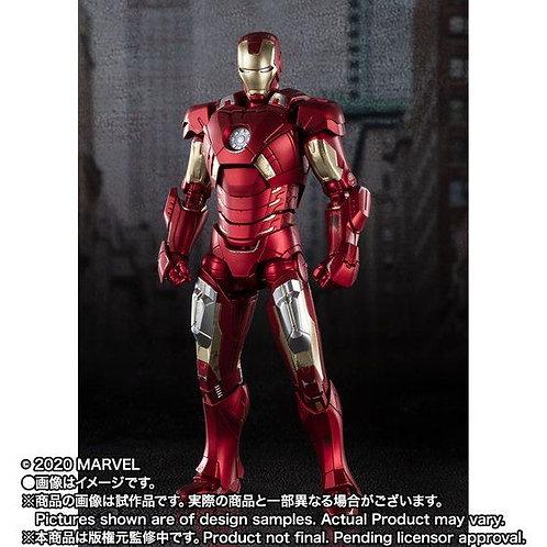 Bandai S.H.Figuarts Iron Man Mark 7 AVENGERS ASSEMBLE EDITION Japan version