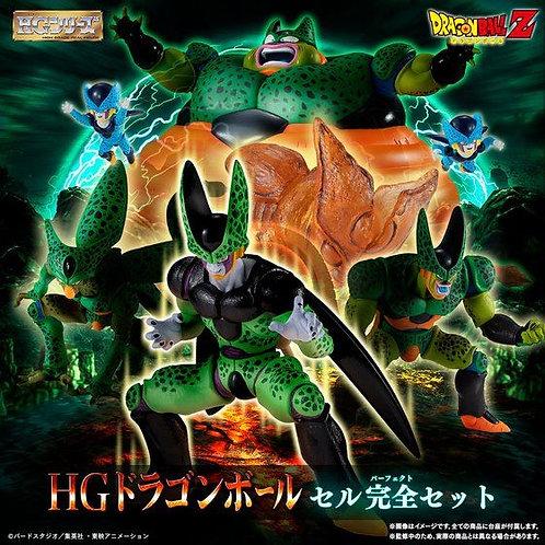HG Dragon Ball Cell complete set Japan version