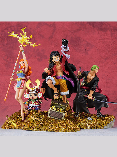 Figuarts ZERO ONE PIECE WT100 Memorial One Hundred Great Pirate Views set