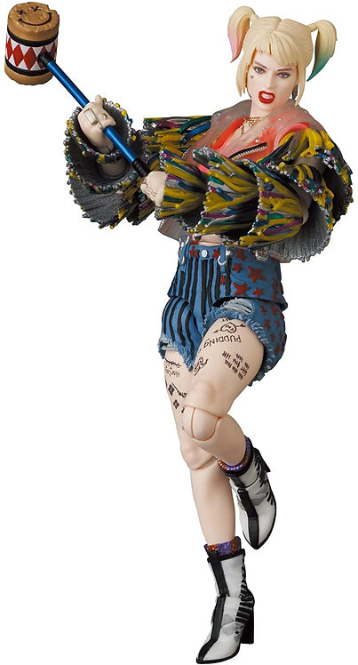MAFEX Harley Quinn Caution Tape Jacket Ver. Japan version