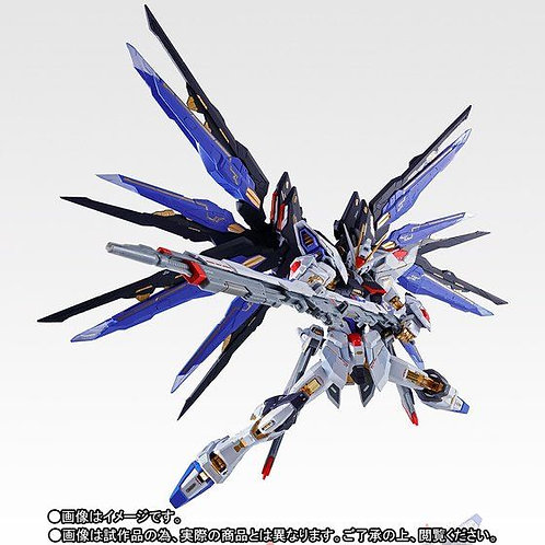 METAL BUILD Strike Freedom Gundam SOUL BLUE Ver. Japan version