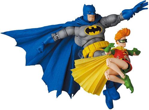 MAFEX Batman Blue Version & Robin The Dark Knight Returns Japan version