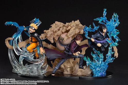 Figuarts ZERO Naruto Gaara Sasuke Shippuden Kizuna Relation set Japan version