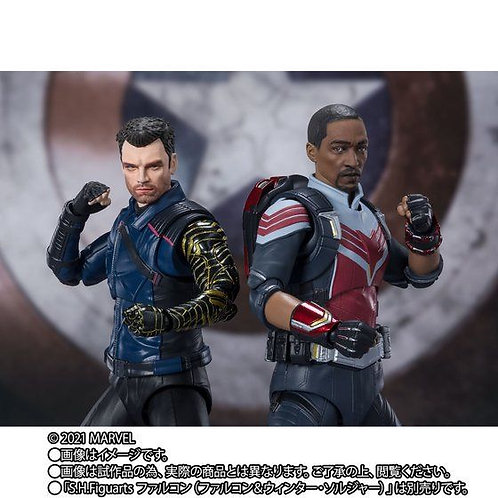S.H.Figuarts Bucky Barnes & Falcon set (The Falcon and The Winter Soldier)