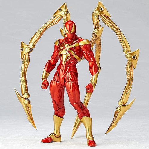 Kaiyodo AMAZING YAMAGUCHI Iron Spider Japan version