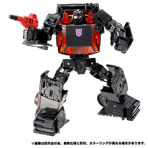 Takara Tomy Transformers Earthrise ER EX-23 Decepticon Runabout JP version