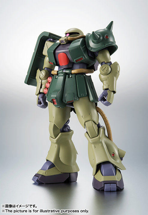 THE ROBOT SPIRITS <SIDE MS> MS-06FZ Zaku II Kai ver. A.N.I.M.E. Japan version