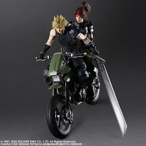 FINAL FANTASY Ⅶ Remake PLAY ARTS KAI Jessie Cloud & Motor Bike set Japan version
