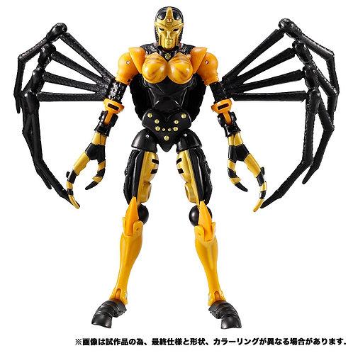 Takara Tomy Transformers Kingdom Series KD-05 Blackarachnia Japan