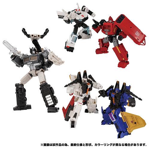 Takara Tomy Transformers Earthrise EX Set (EX-17-19) Japan version