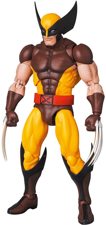 MAFEX Wolverine BROWN COMIC Ver. Japan version