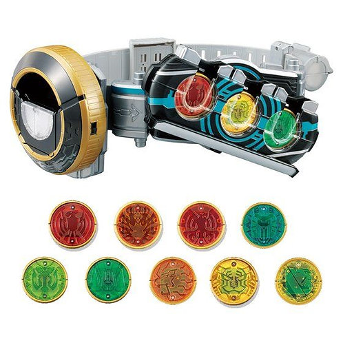 Kamen Rider OOO 10th Anniversary Makeover Belt DX OOOJapan version