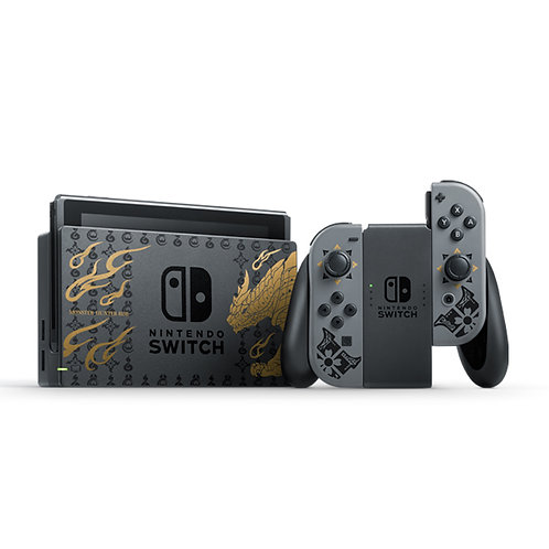 Nintendo Switch Monster Hunter Rise Special Edition Console Japan version