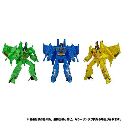 Takara Tomy Transformers SIEGE SG-EX Acid Storm & Aeon Storm & Nova Storm