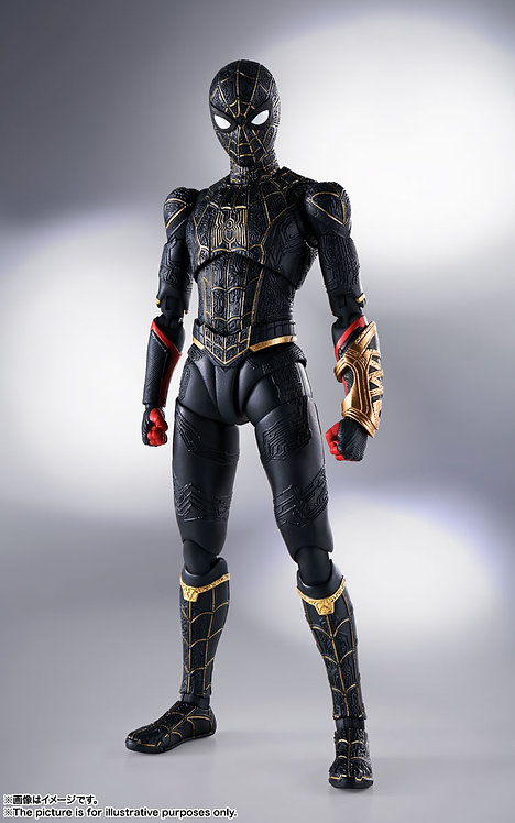 S.H.Figuarts Spider-Man Black & Gold Suit (Spider-Man: No Way Home) Japan ver.