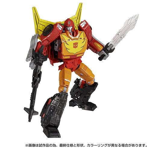 Takara Tomy Transformers Kingdom KD-12 Rodimus Prime Japan version