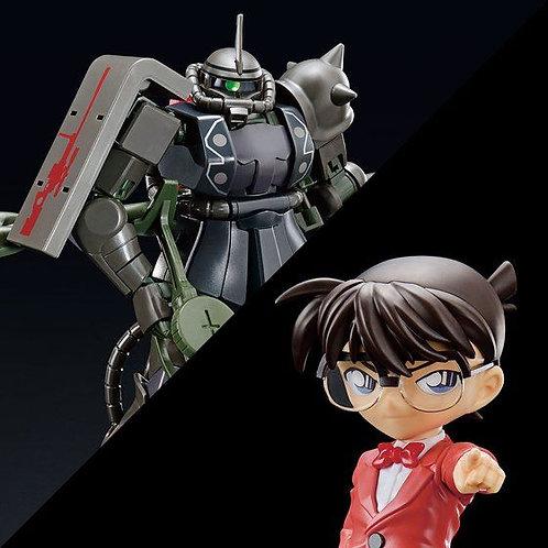 Jimmy Kudo (Char's Zaku II color) & HG 1/144 Char's Zaku II (Shuichi Akai color)
