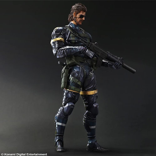 PLAY ARTS KAI METAL GEAR SOLID V GROUND ZEROES Snake Japan version