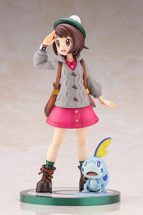 KOTOBUKIYA ARTFX J Pokémon series Gloria with Sobble 1/8 scale Japan version