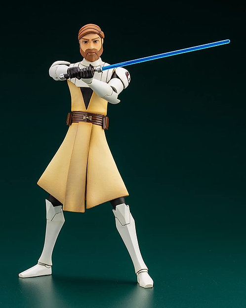 ARTFX+ Star Wars: The Clone Wars Obi-Wan Kenobi 1/10 scale Japan version
