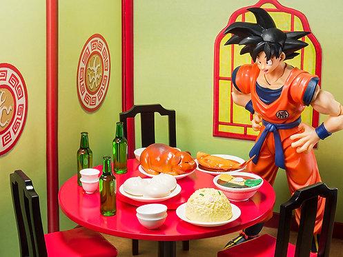 Bandai S.H.Figuarts Son Goku's belly eighth set Japan version