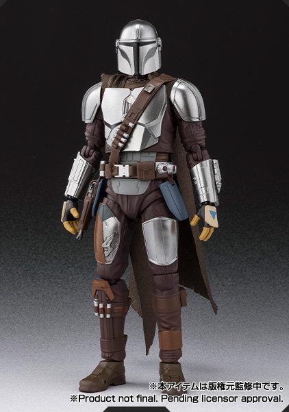 Bandai S.H.Figuarts Star Wars The Mandalorian (Beskar Armor) Japan version