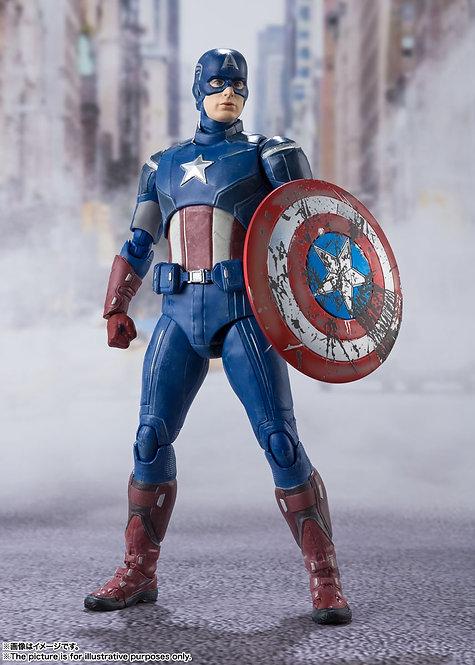 Bandai S.H.Figuarts Captain America AVENGERS ASSEMBLE EDITION Japan version