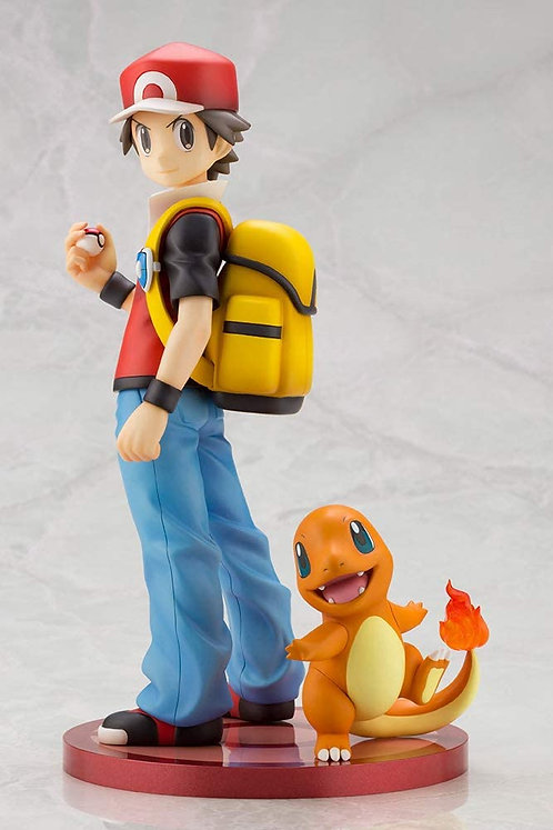 KOTOBUKIYA ARTFX J Pokémon series Red with Charmander 1/8 scale Japan version