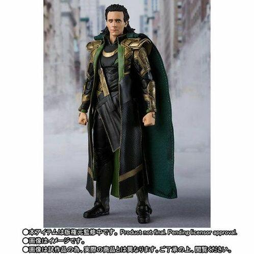 Bandai S.H.Figuarts Loki (Avengers) Japan version