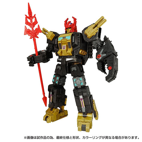 Takara Tomy Transformers GENERATION SELECTS Black Zarak Japan version