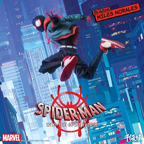 Sentinel Spider-Man: Into the Spider-Verse (Miles Morales) SV Action