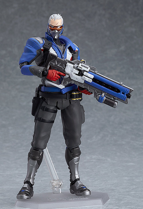figma Overwatch Soldier: 76 Japan version