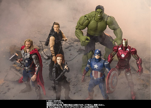 Bandai S.H.Figuarts The Avengers complete set Japan version