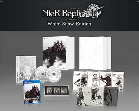 NieR Replicant ver.1.22474487139... White Snow Edition Japan version