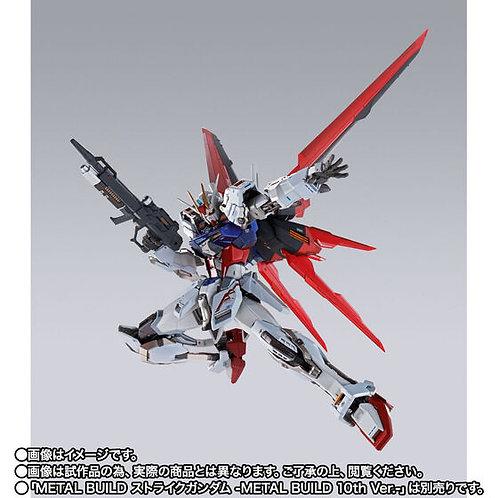 METAL BUILD Strike Gundam 10th Ver. & Aile Striker 10th Ver. set Japan version