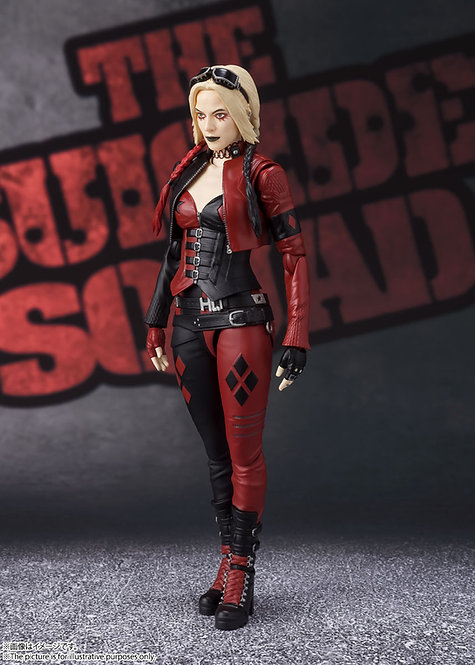 Bandai S.H.Figuarts Harley Quinn (The Suicide Squad) Japan version