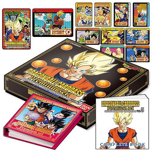 Dragon Ball Carddass Premium set Vol.5 Japan version