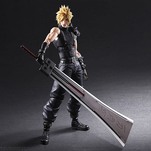 FINAL FANTASY Ⅶ Remake PLAY ARTS KAI Cloud Version 2 Event Limited Edition