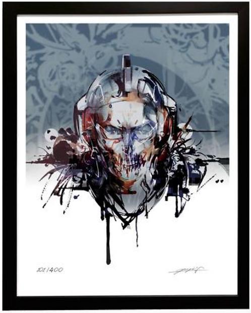 Kojima Productions Ludens Framed Signed Poster No.2 Japan version