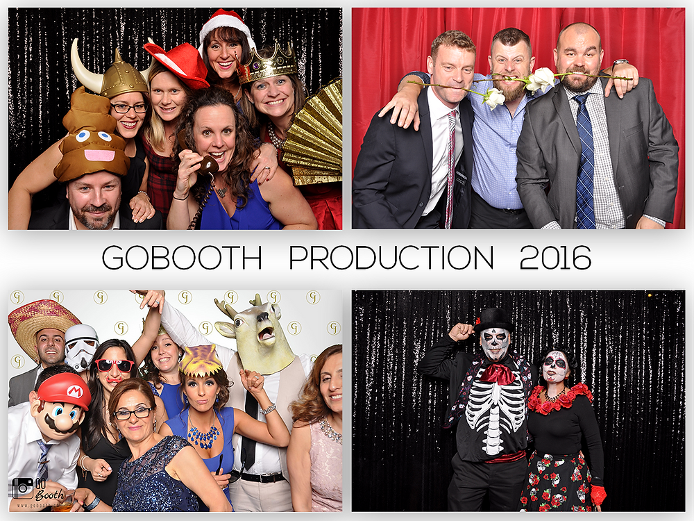 Images from 2016 GoBooth Photobooth Events