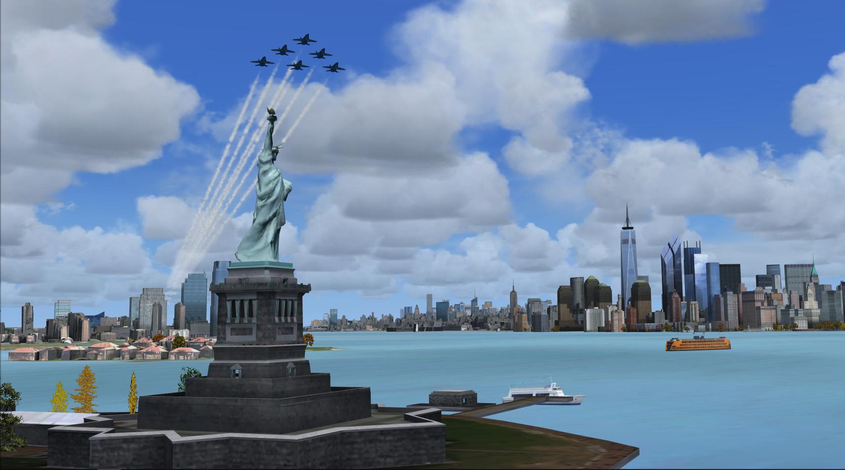 NYC Flyover 3