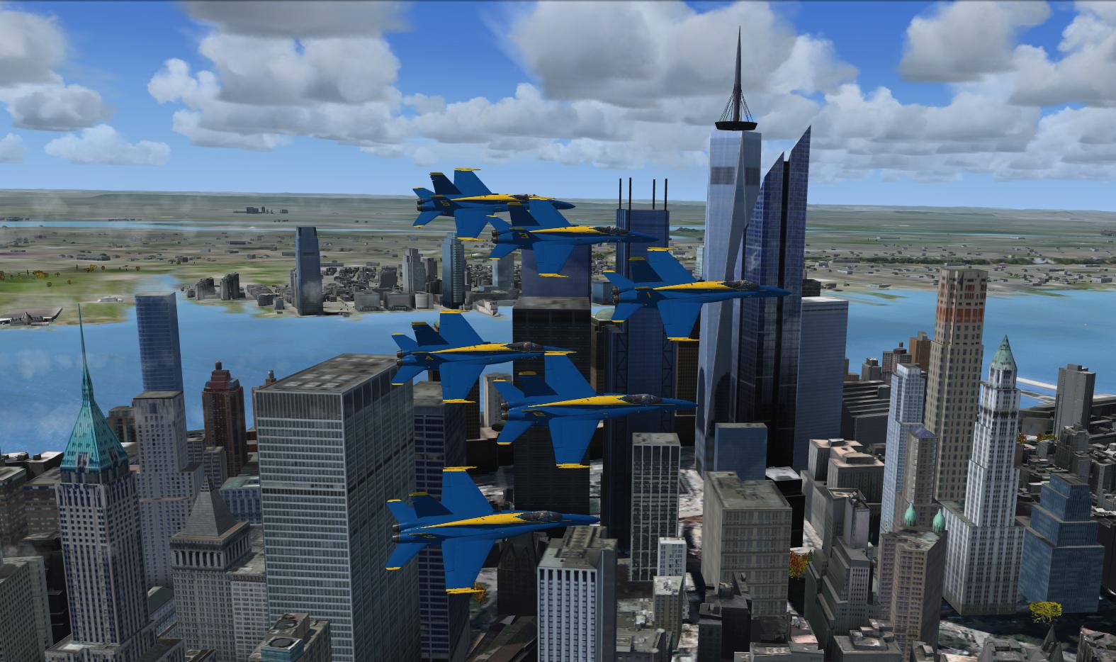 NYC Flyover 1