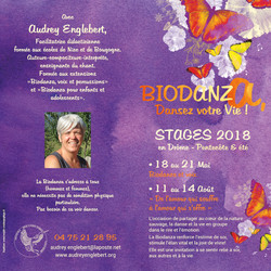 Plaquette biodanza 2018
