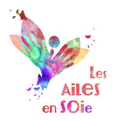 Logo Les Ailes en Soie