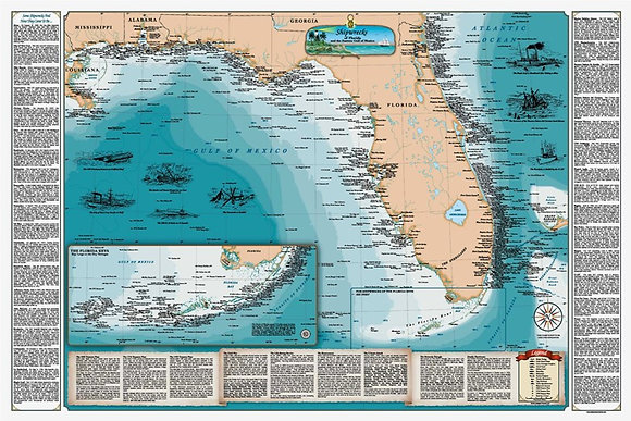 SHIPWRECKS OF FL & EASTERN GULF- PAPER