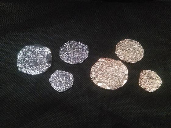 ASSORTED REPLICA COINS