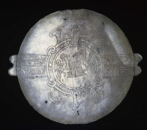 Inca Silver Plate